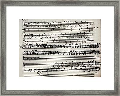 George Frederick Handel Framed Print by Granger