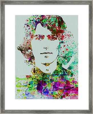 George Harrison Framed Print by Naxart Studio