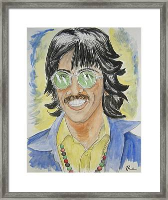 George Framed Print by Joseph Papale