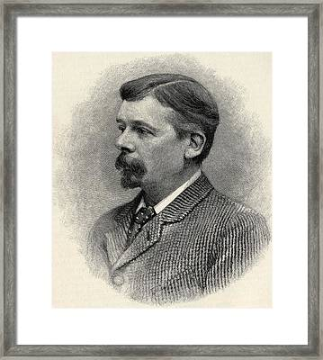 George Louis Palmella Busson Du Maurier Framed Print by Vintage Design Pics