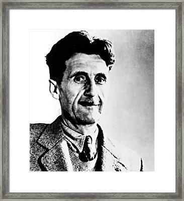 George Orwell, Circa 1949 Framed Print by Everett