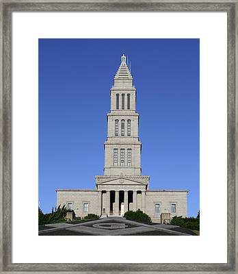 George Washington Masonic Temple National Memorial In Alexandria Virginia Framed Print by Brendan Reals