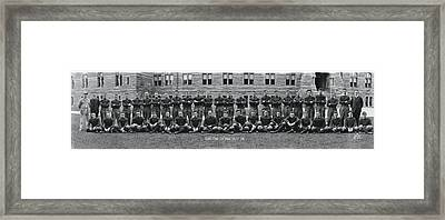 Georgetown U Football Squad Framed Print by Panoramic Images
