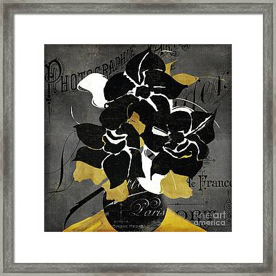Georgette I Framed Print by Mindy Sommers