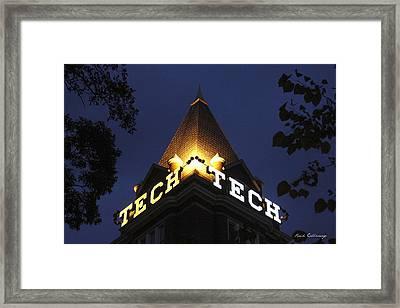 Georgia Tech Atlanta Georgia Framed Print by Reid Callaway