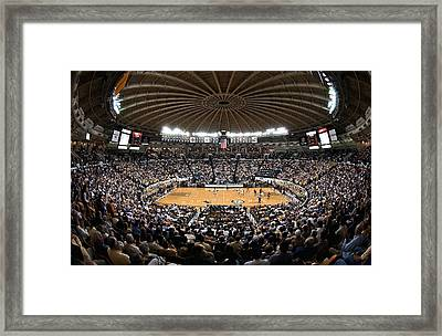 Georgia Tech Yellow Jackets Alexander Memorial Coliseum Framed Print by Replay Photos