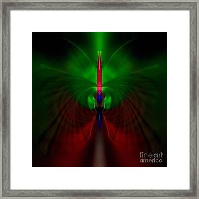 Gerania Petalgrass Framed Print by Raymel Garcia
