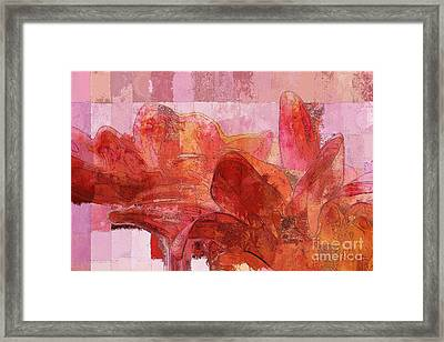 Gerberie - A04 Framed Print by Variance Collections