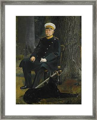 German Chancellor Otto Von Bismarck Framed Print by MotionAge Designs