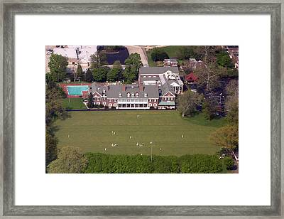 Germantown Cricket Club 3 Framed Print by Duncan Pearson