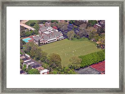 Germantown Cricket Club Cricket Festival Framed Print by Duncan Pearson