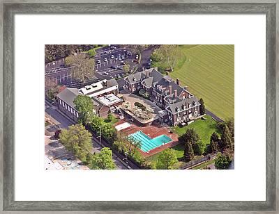 Germantown Cricket Club Framed Print by Duncan Pearson