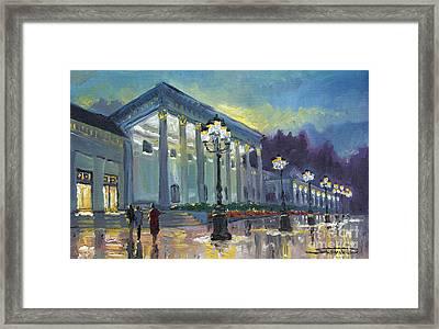 Germany Baden-baden Casino Framed Print by Yuriy  Shevchuk