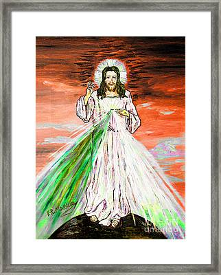 Gesu' Framed Print by Loredana Messina