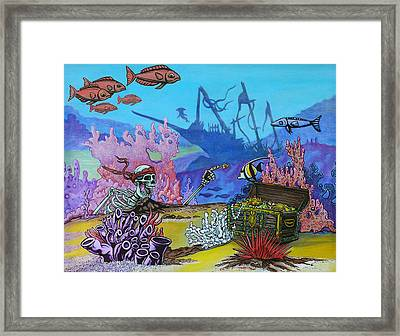 Get Rich Or Die Trying Framed Print by Jacob Medina