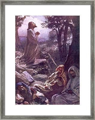 Gethsemane Framed Print by Harold Copping