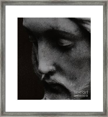 Gethsemane Framed Print by Linda Knorr Shafer