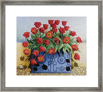 Getting There Framed Print by Pat Scott