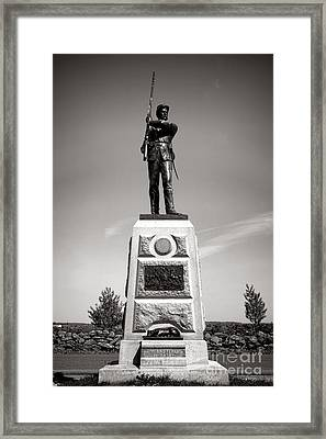 Gettysburg National Park 11th Pennsylvania Infantry Monument Framed Print by Olivier Le Queinec