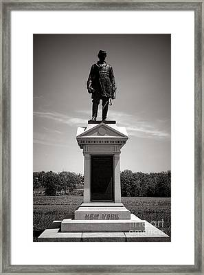 Gettysburg National Park Abner Doubleday Monument Framed Print by Olivier Le Queinec