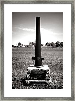 Gettysburg National Park Army Of The Potomac Headquarters Monument Framed Print by Olivier Le Queinec