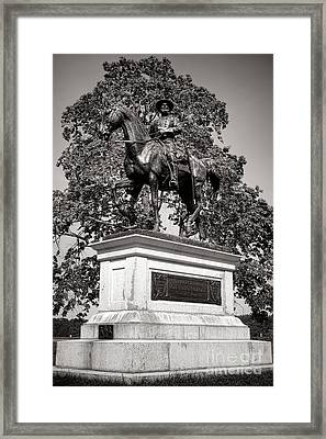 Gettysburg National Park John Fulton Reynolds Monument Framed Print by Olivier Le Queinec