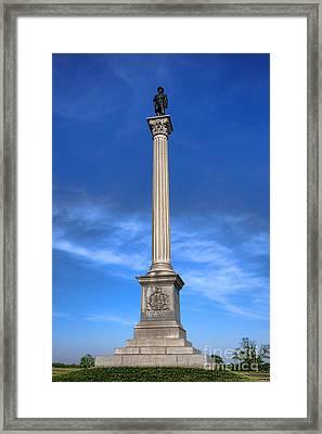 Gettysburg National Park Vermont Stannard Brigade Memorial Framed Print by Olivier Le Queinec