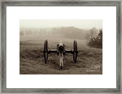 Gettysburg Framed Print by Sean Cupp