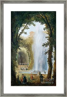 Geyser Framed Print by Celestial Images