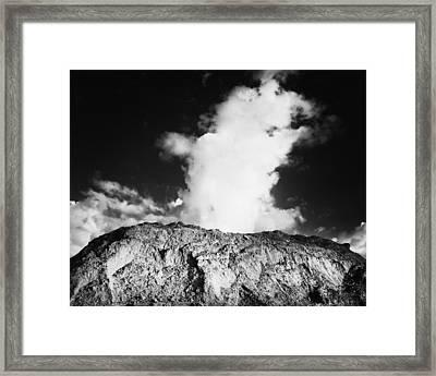 Geyser Rock Framed Print by Stephen Mack