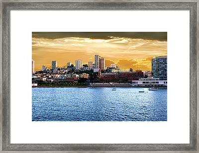 Ghirardelli Square Framed Print by Michael Cleere