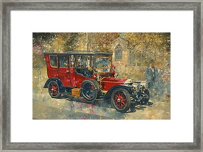Ghost - Hawton Framed Print by Peter Miller
