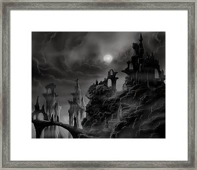 Ghost Castle Framed Print by James Christopher Hill