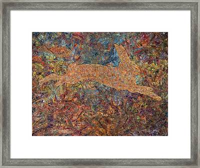 Ghost Of A Rabbit Framed Print by James W Johnson