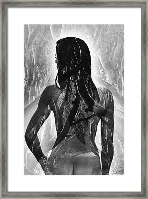 Ghost Of Eve Framed Print by Robert Magnus