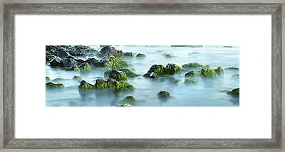 Ghost Tide Framed Print by Sun Gallery Photography Lewis Carlyle
