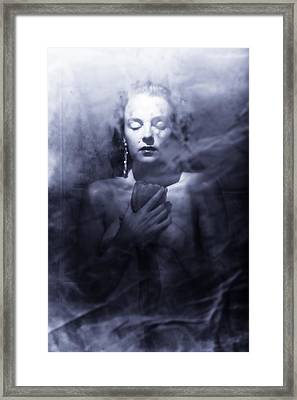 Ghost Woman Framed Print by Scott Sawyer