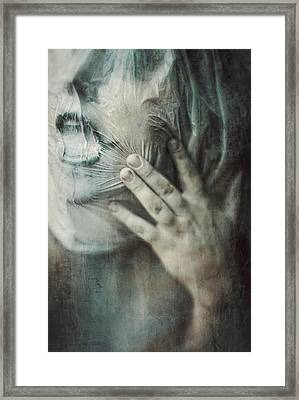 Ghost.echoes.silent Sounds. Framed Print by Joanna Jankowska