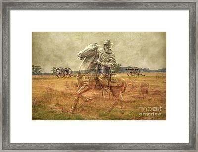 Ghosts Of Gettysburg II Framed Print by Randy Steele