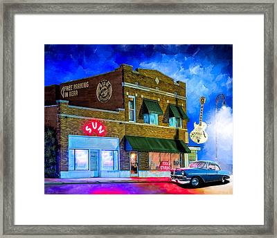 Ghosts Of Memphis - Sun Studio Framed Print by Mark Tisdale