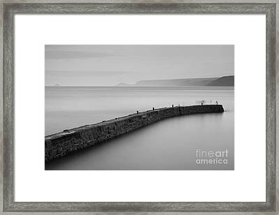 Ghosts Of Sennen Cove Framed Print by Richard Thomas