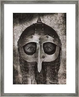 Ghosts Of The Vikings Framed Print by Daniel Hagerman