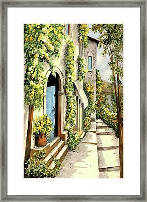 Giallo Limone Framed Print by Guido Borelli