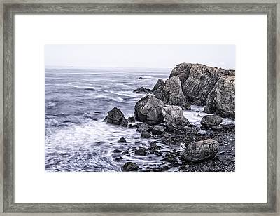Giant Stones Framed Print by Joseph S Giacalone