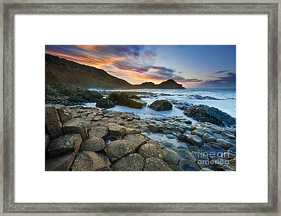 Giant's Causeway 1 Framed Print by Rod McLean