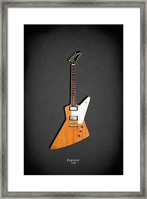Gibson Explorer 1958 Framed Print by Mark Rogan