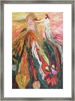 Gift With Opposition Framed Print by Suzanne  Marie Leclair