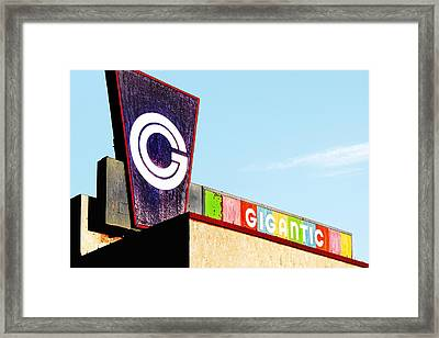 Gigantic Framed Print by Humboldt Street