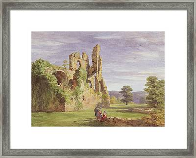 Gight Castle, 1851 Framed Print by James Giles