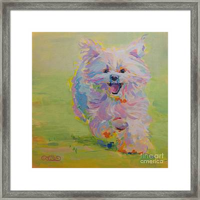 Gigi Framed Print by Kimberly Santini